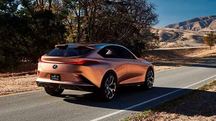 Концепт Lexus LF-1 Limitless 2018 года