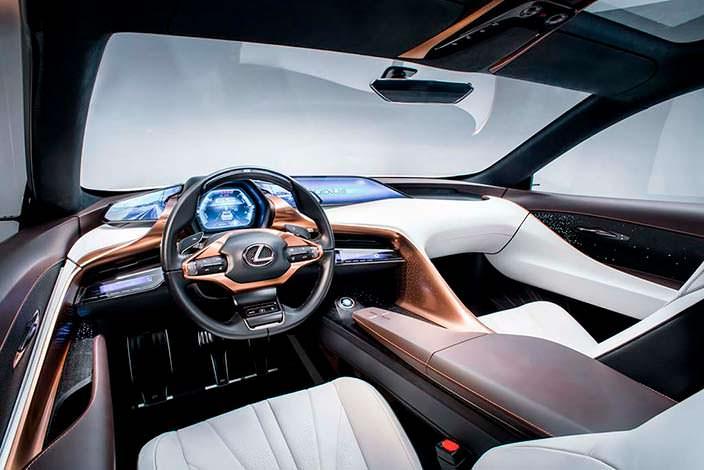Фото салона Lexus LF-1 Limitless Concept