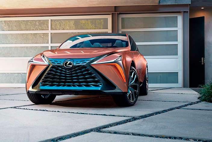 Кроссовер из будущего Lexus LF-1 Limitless 2018