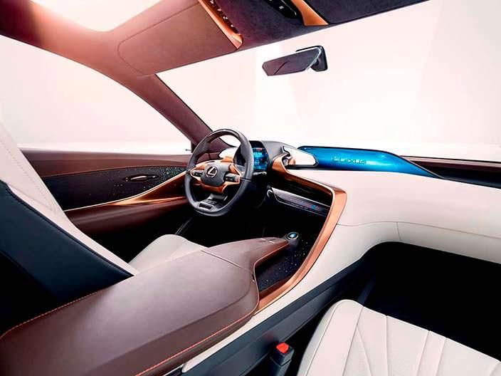 Фантастический салон Lexus LF-1 Limitless 2018