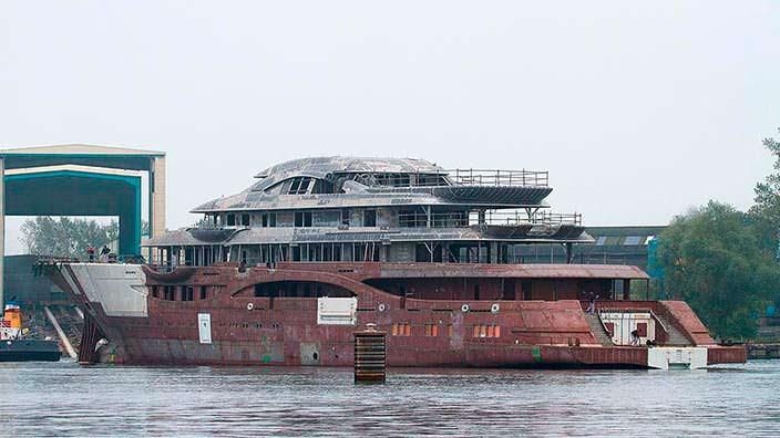 Яхта Lürssen Project TIS. Длина 111 метров