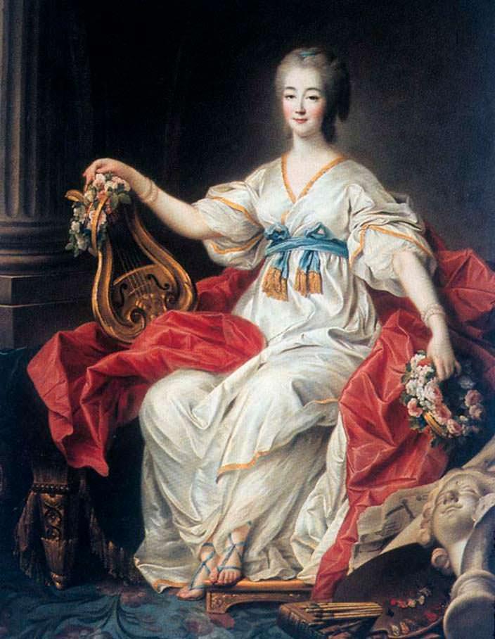 Мари Жанна Дюбарри - развратная фаворитка короля Людовика XV