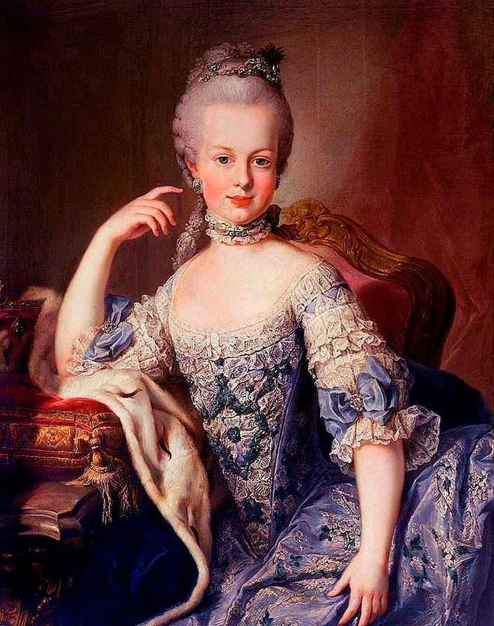 Мария-Антуанетта - самая развратная королева Франции