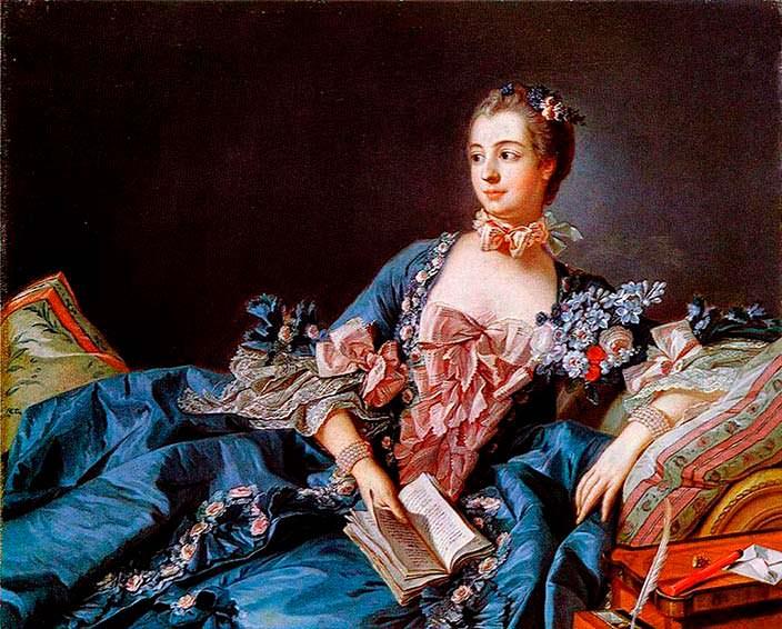 Маркиза де Помпадур - самая развратная женщина при Людовике XV