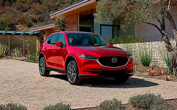 Mazda CX-5. Лучший автомобиль 2018 года