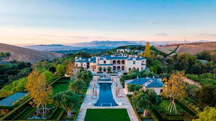 Мега-дом в США основателя Legendary Pictures