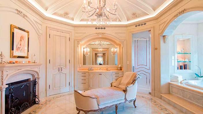 Элитная ванная комната виллы Томаса Тулла