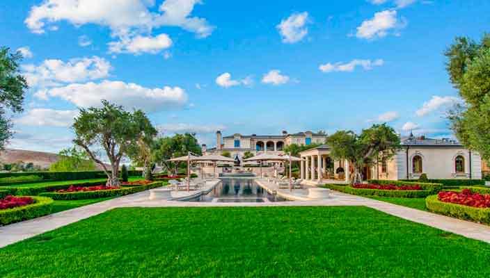 Основатель Legendary Pictures продает мега-дом в США | цена, фото