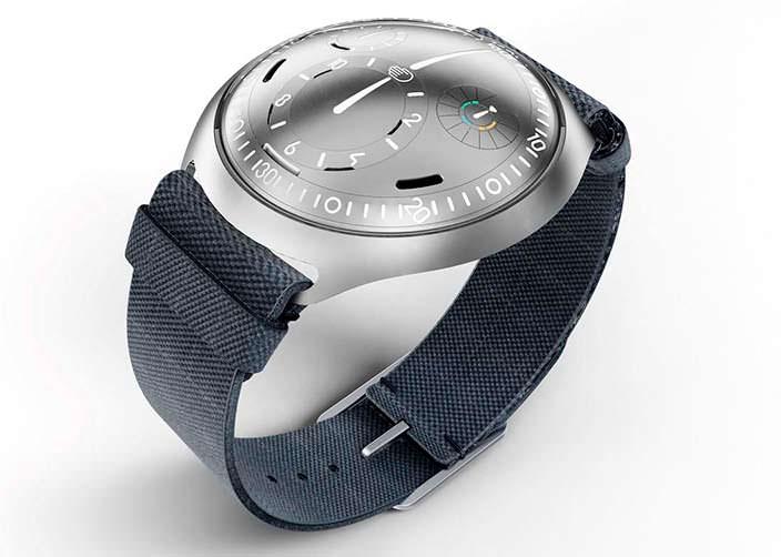 Премиальные бельгийские часы Ressence Type 2 e-Crown