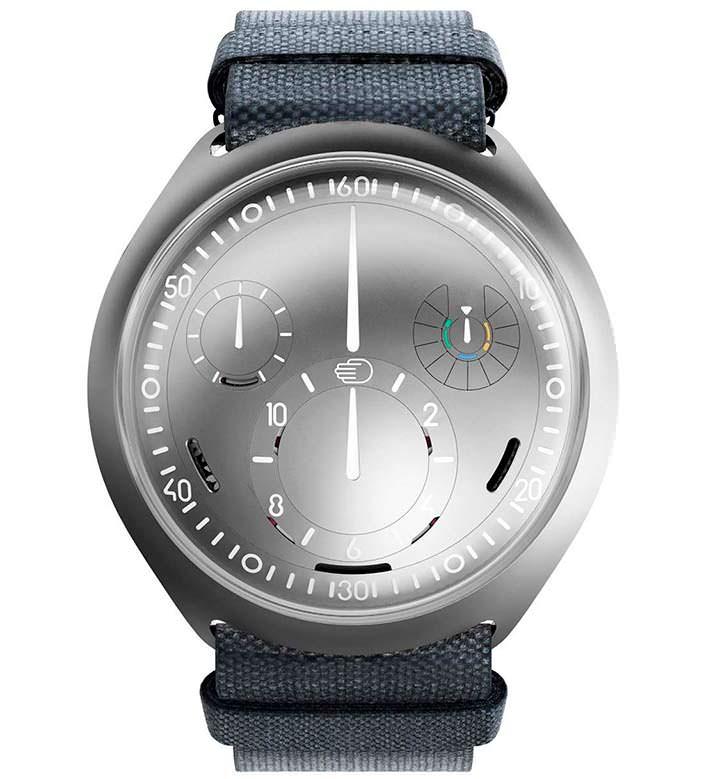 Механические часы с электронной короной Ressence Type 2 e-Crown