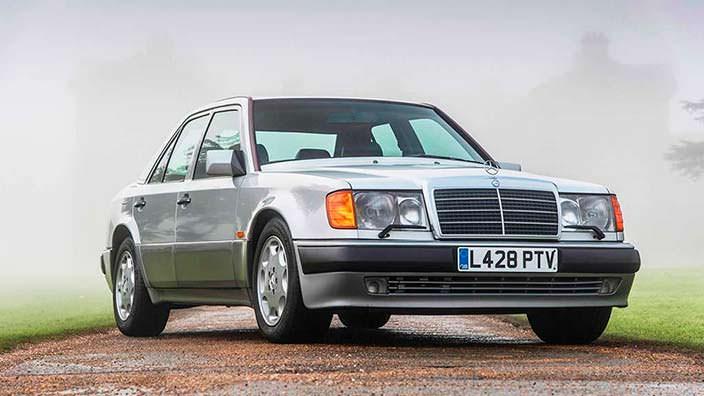 Mercedes-Benz 500E 1993 года выпуска