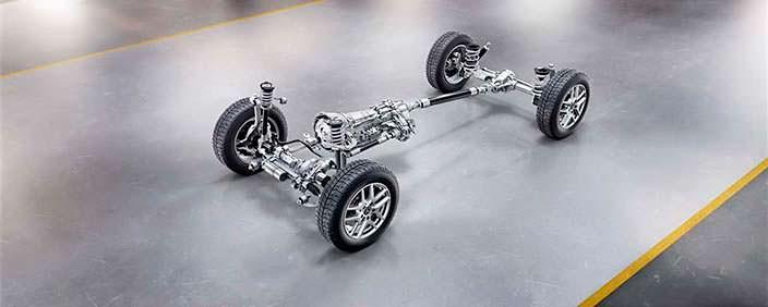 Шасси Mercedes-Benz G-Class нового поколения