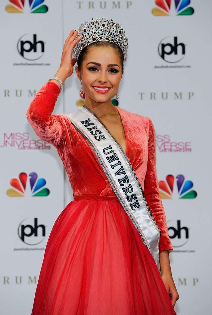 Оливия Калпо - победительница конкурса «Мисс Вселенная 2012»