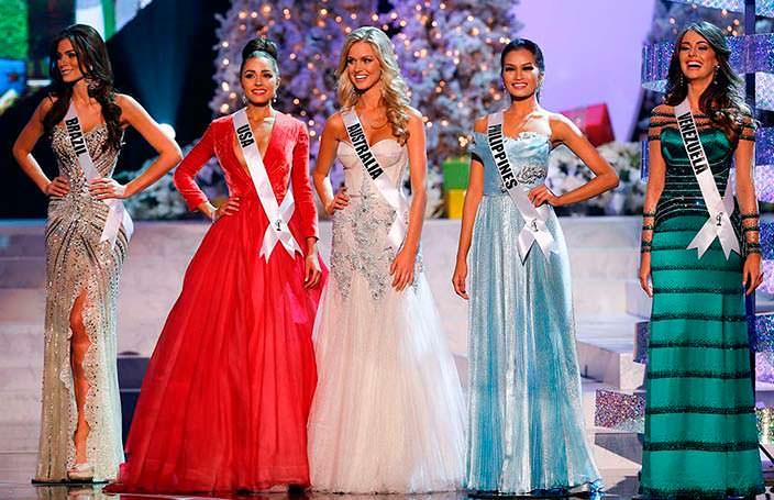ТОП-5 участниц «Мисс Вселенная 2012»