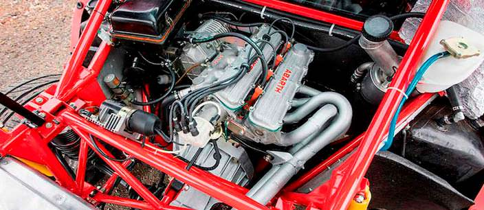 Двигатель 2,0-литра Lancia 037 Stradale
