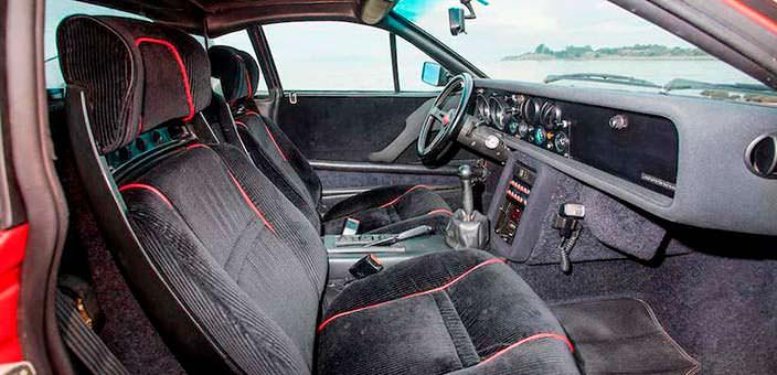 Салон Lancia 037 Stradale