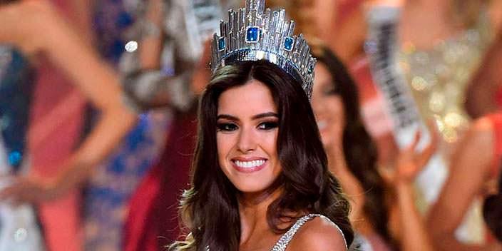 Паулина Вега - 63-я Мисс Вселенная