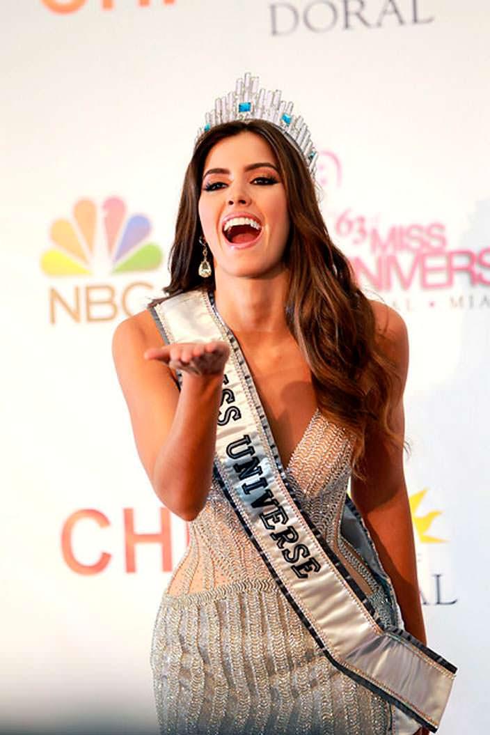 Паулина Вега - Мисс Вселенная из Колумбии