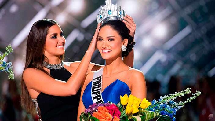 Пия Алонсо Вуртцбах «Мисс Вселенная 2015» и Паулина Вега