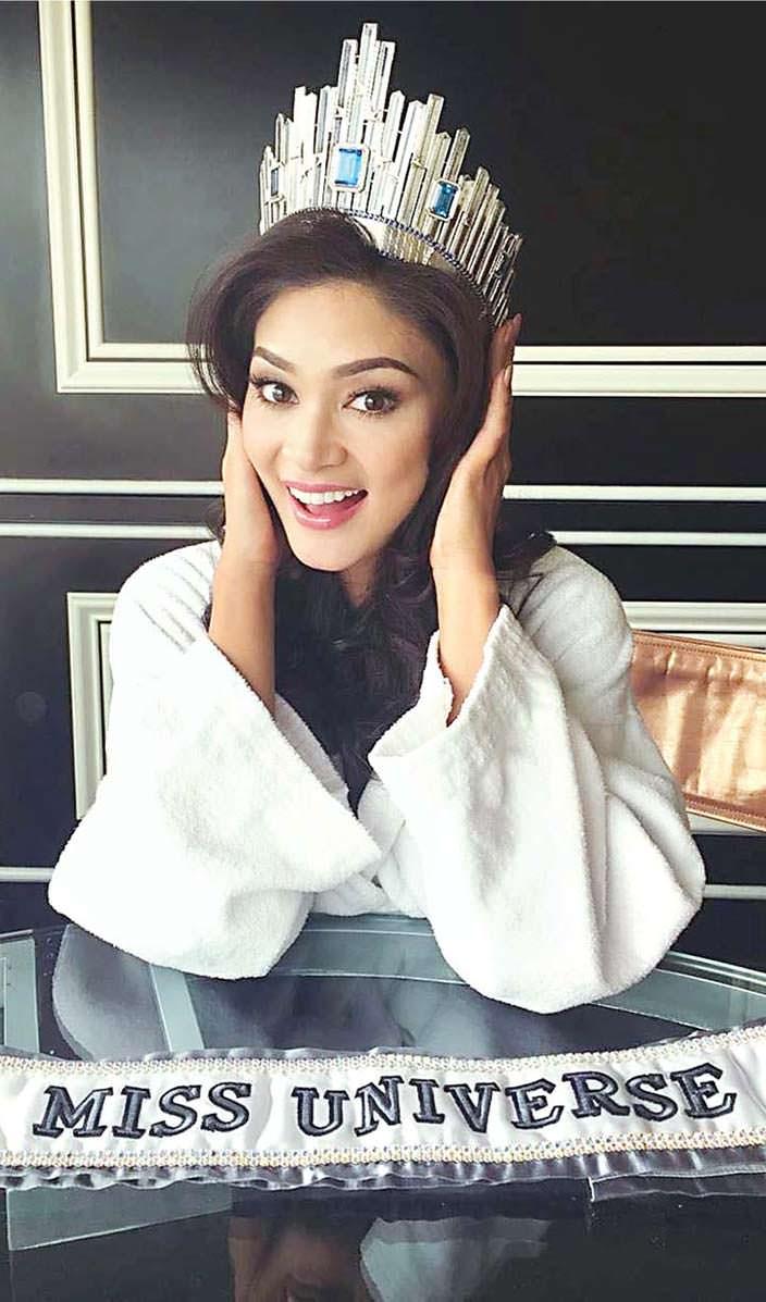 Пия Алонсо Вуртцбах - 64-я Мисс Вселенная