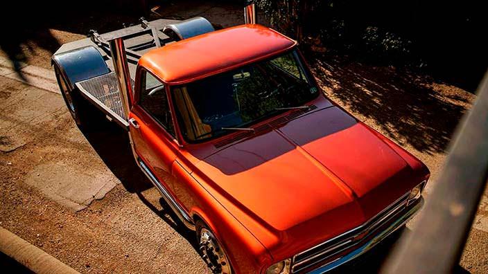 Пикап из «Форсажа 4» Chevrolet C-10