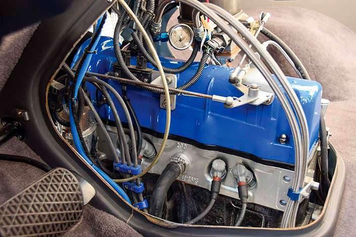 Двигатель Mercedes-Benz O 319 1959 года выпуска