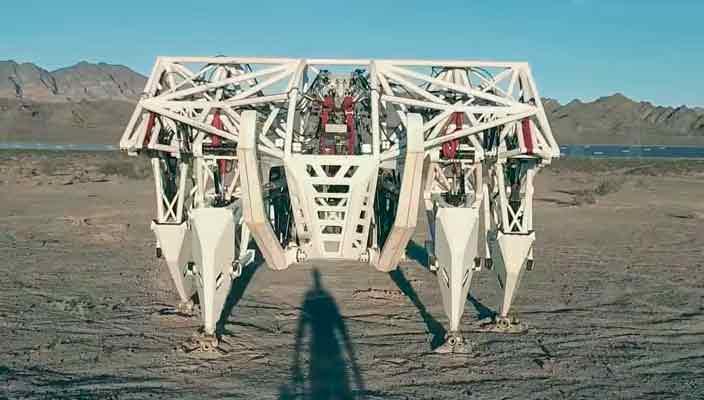 Создан фантастический робот-экзоскелет Prosthesis | видео