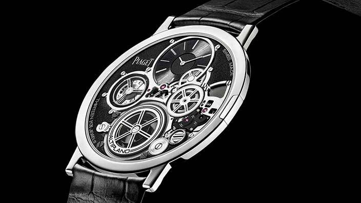 Самые тонкие часы в мире Piaget Altiplano Ultimate Concept