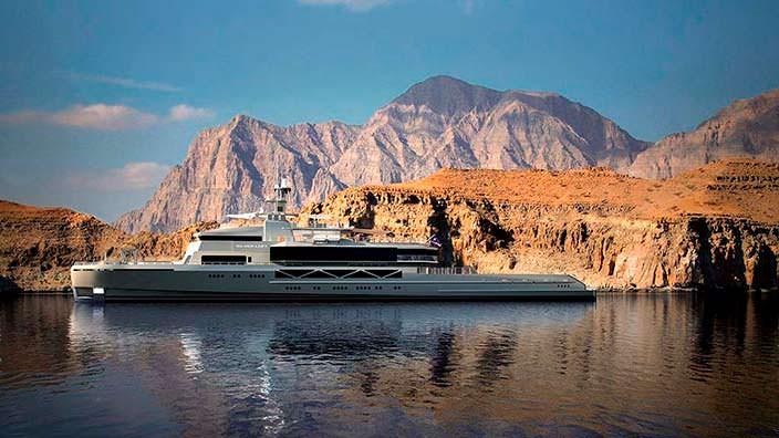 Яхта SilverYachts Silver Loft. Длина 85 метров
