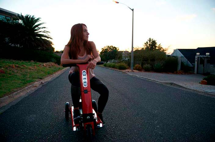Складной электро-скутер Relync R1 весом 25 кг