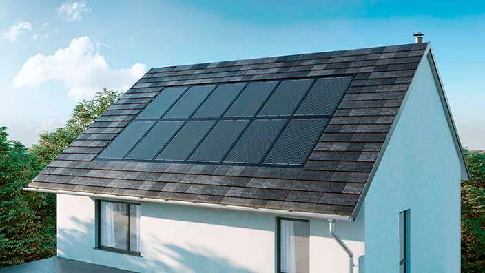 Солнечная крыша Nissan Energy Solar: цена $5393 за 6 панелей