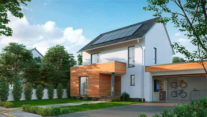Солнечные крыши и батареи для домов теперь и от Nissan