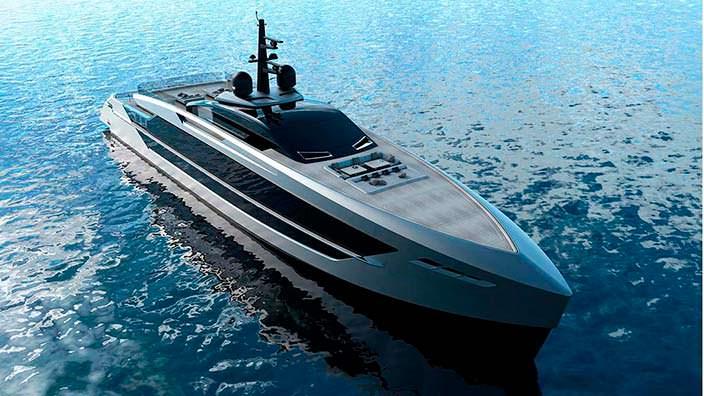 S533 Saetta: итальянская яхта от Tankoa Yachts