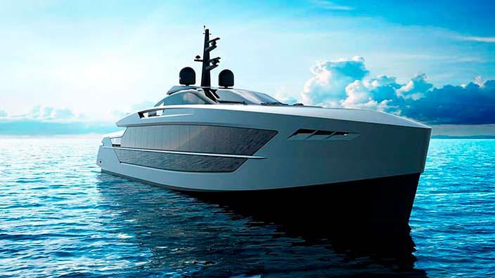 S533 Saetta: фантастическая яхта от Tankoa Yachts