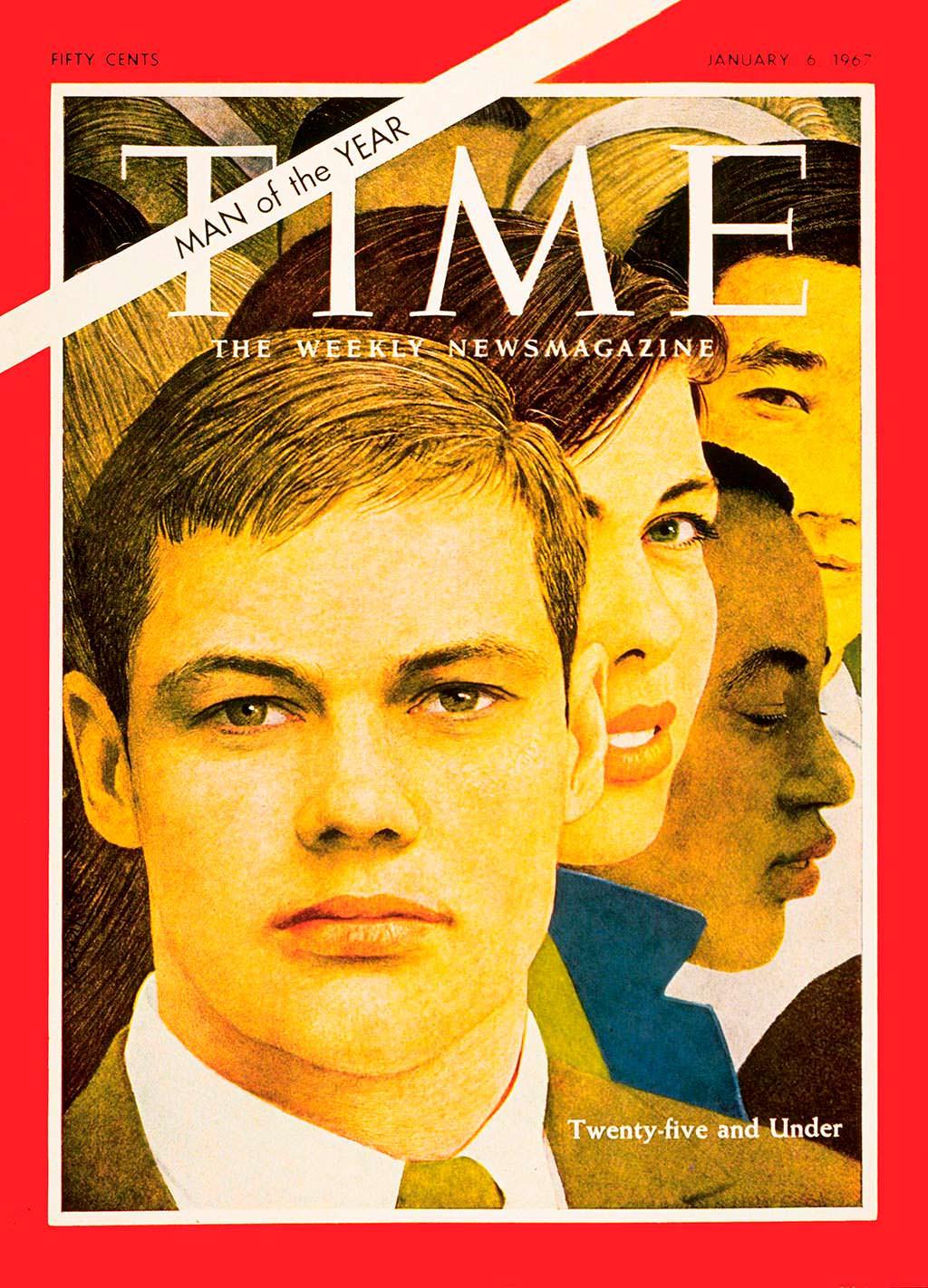1966 год. Поколение Беби-бумеров на обложке Time