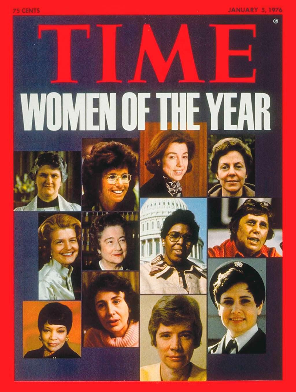 1975 год. Американские женщины на обложке Time