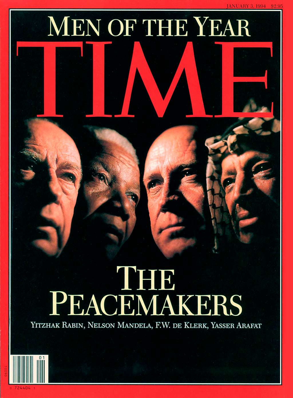 1993 год. Миротворцы на обложке Time