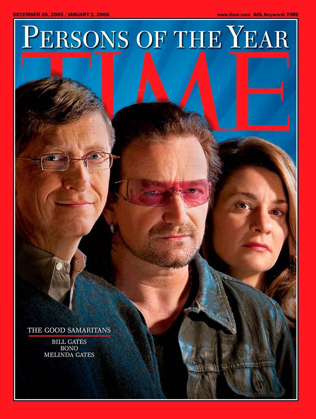 2005 год. Добрые самаритяне на обложке Time