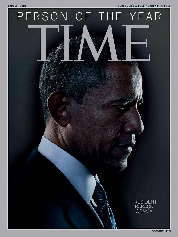 2012 год. Переизбранный президент Барак Обама на обложке Time