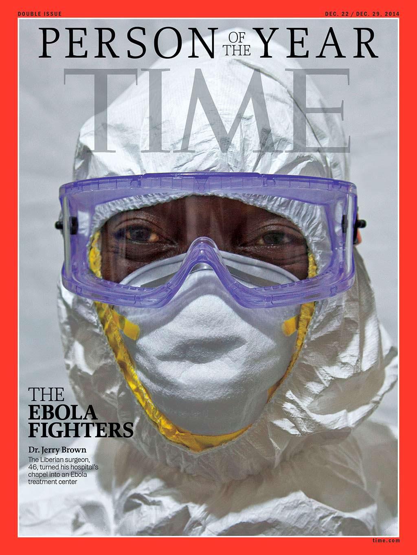 2014 год. Борцы с лихорадкой Эбола на обложке Time