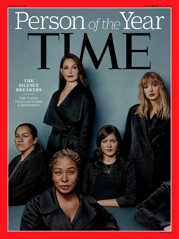 2017 год. Нарушители молчания на обложке Time