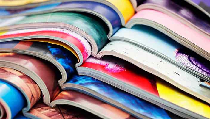 Типография RMprint: печать глянцевых журналов и газет