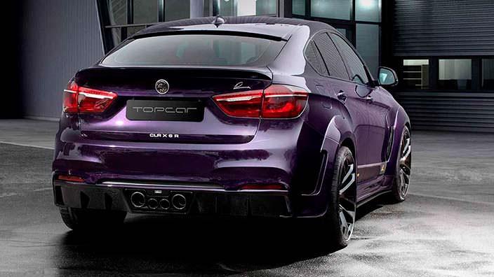 Lumma CLR BMW X6 R. Тюнинг от TopCar