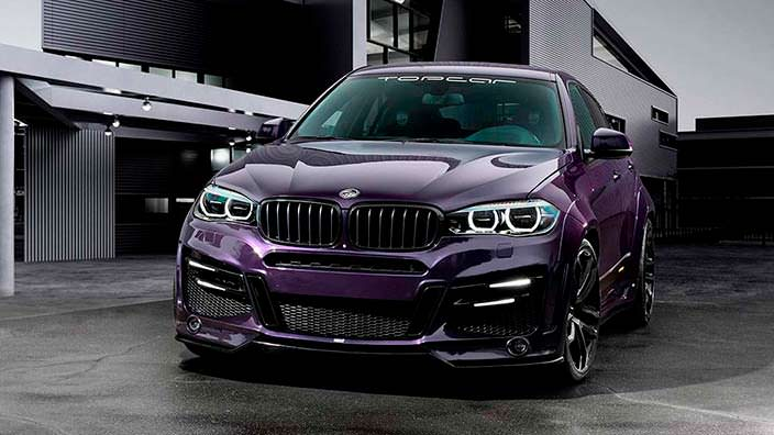 Купе-кроссовер BMW X6. Тюнинг от TopCar