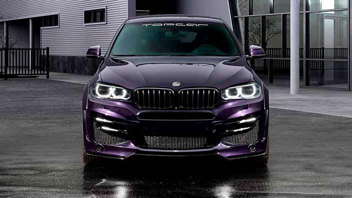 Русский тюнинг BMW X6 от TopCar