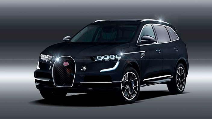 Кроссовер Bugatti, неофициальный дизайн