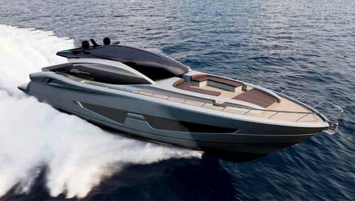 Итальянская верфь Canados показала яхту Gladiator 822 | фото