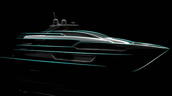 Яхта Ferretti Riva 90 от Officiana Italiana Design
