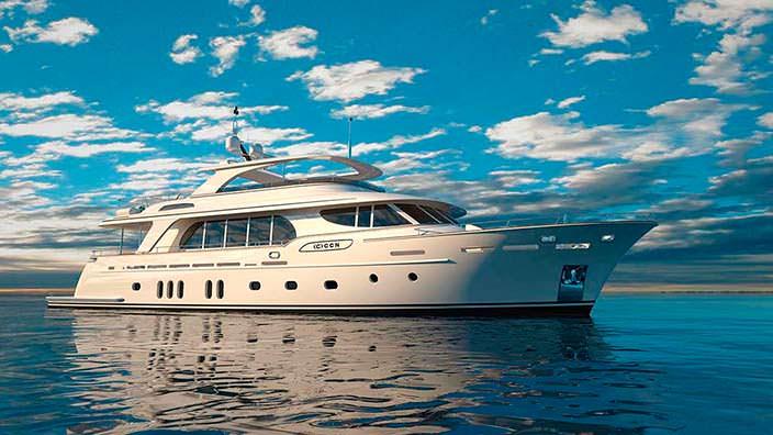 Яхта Fuoriserie от итальянской верфи CCN
