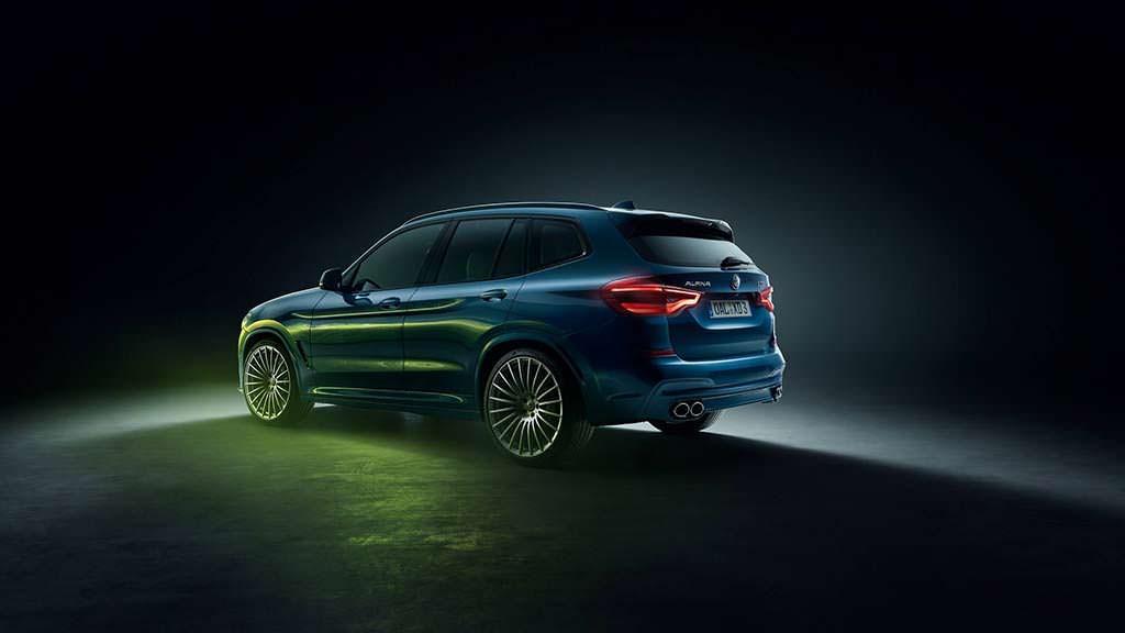 Новая Alpina XD3 из BMW X3
